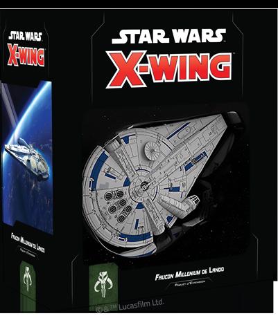 Faucon Millenium de Lando - X-Wing 2.0 - jeux - Toulon - L'Atanière