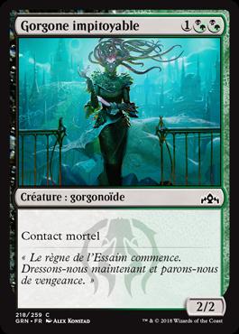 Gorgone impitoyable - GRN - Magic - jeux - Toulon - L'Atanière