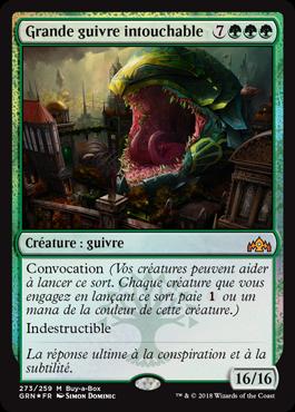 Grande guivre intouchable - GRN - Magic - jeux - Toulon - L'Atanière