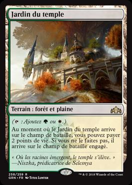 Jardin du temple - GRN - Magic - jeux - Toulon - L'Atanière