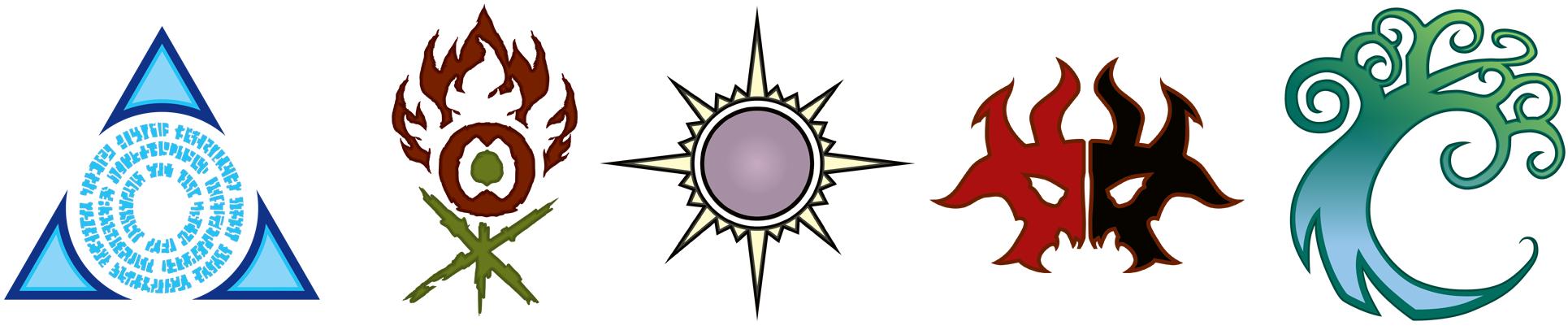 Ravnica's Allegiance logos - Magic - jeux - Toulon - L'Atanière
