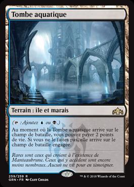 Tombe aquatique - GRN - Magic - jeux - Toulon - L'Atanière