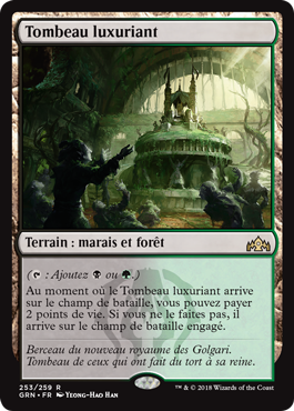 Tombeau luxuriant - GRN - Magic - jeux - Toulon - L'Atanière