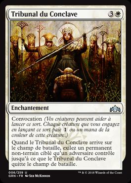 Tribunal du Conclave - GRN - Magic - jeux - Toulon - L'Atanière