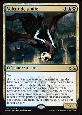 Voleur de sanité - GRN - Magic - jeux - Toulon - L'Atanière