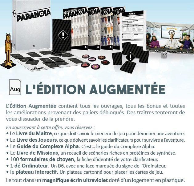 Paranoïa édition augmentée - jdr - jeux - Toulon - L'Atanière