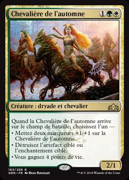 Chevalière de l'automne - GRN - Magic - jeux - Toulon - L'Atanière