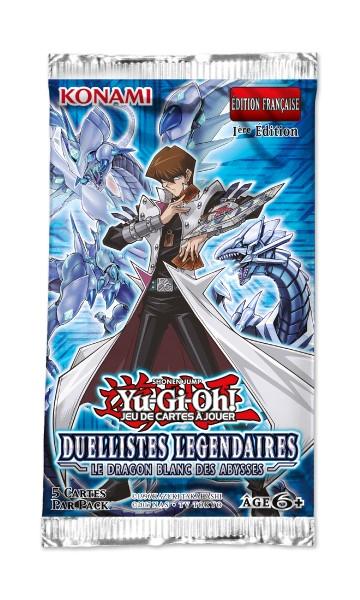 Duellistes Légendaires : Le Dragon Blanc des Abysses - booster - jeux - Toulon - L'Atanière