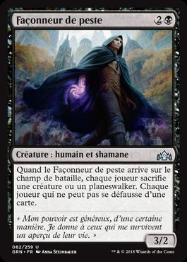 Façonneur de peste - GRN - Magic - jeux - Toulon - L'Atanière