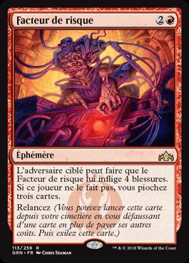 Facteur de risque - GRN - Magic - jeux - Toulon - L'Atanière