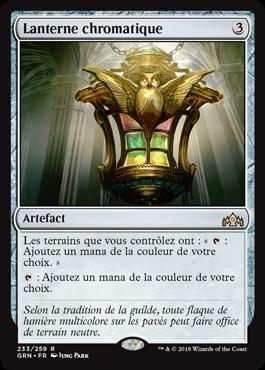 Lanterne chromatique - GRN - Magic - jeux - Toulon - L'Atanière