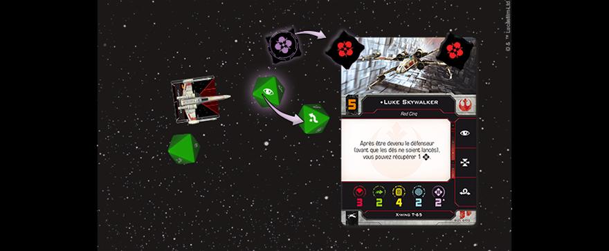 X-Wing 2.0 - Diagramme d'évaion par la Force de Luke Skywalker - Star Wars
