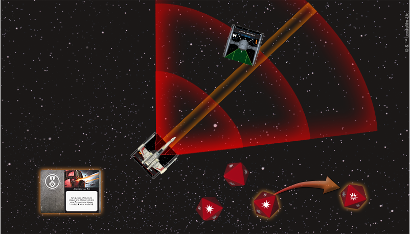 Diagramme du Bullseye - X-Wing 2.0 - jeux -Toulon - L4atanière