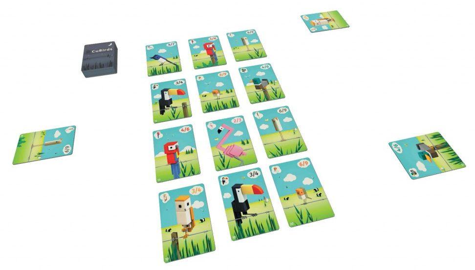 Cubirds table jeux toulon l'Ataniere