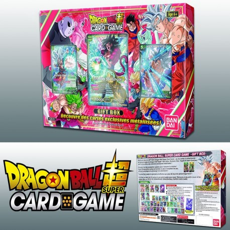 Gift Box Dragon Ball Super jcc gift box 2018 jeux Toulon L'Ataniere
