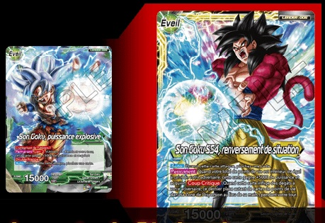 Gift Box Dragon Ball Super big leader 2018 jeux Toulon L'Ataniere