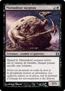 maraudeur sacpeau - Magic - jeux - Toulon - L'Atanière