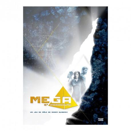 Mega 5e Paradigme - livre de base - jeux -Toulon - L'Atanière