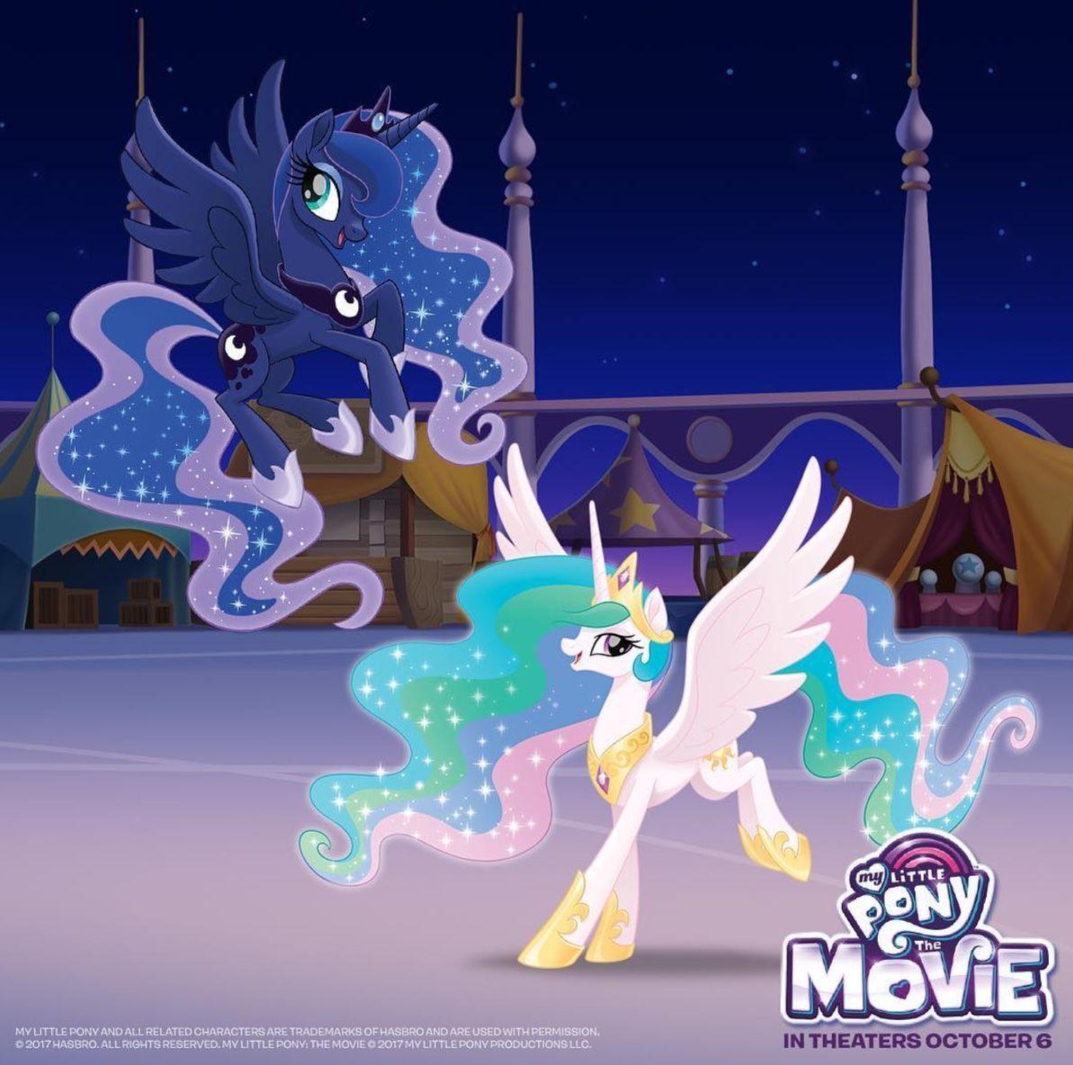 My little pony friendship is magic luna celestia jeux toulon l'Ataniere