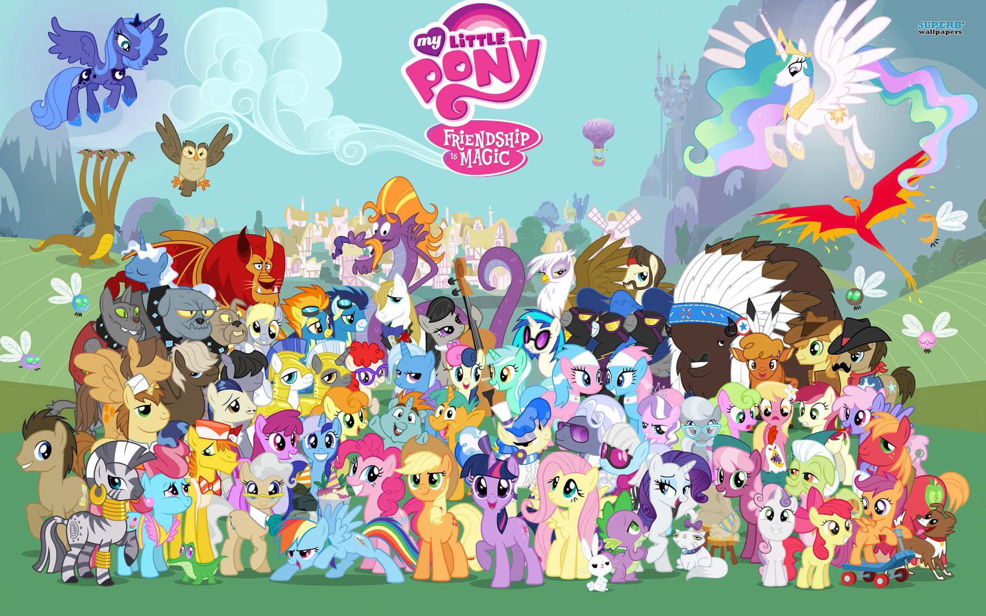 My little pony mlp fim characters jeux toulon l'Ataniere