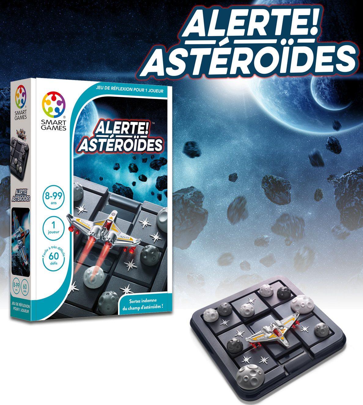 Alerte Astéroïdes boite jeux Toulon L'Atanière