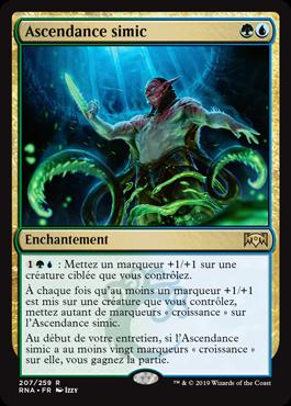 Ascendance simic - RNA Allégeance de Ravnica- Magic - jeux - Toulon - L'Atanière