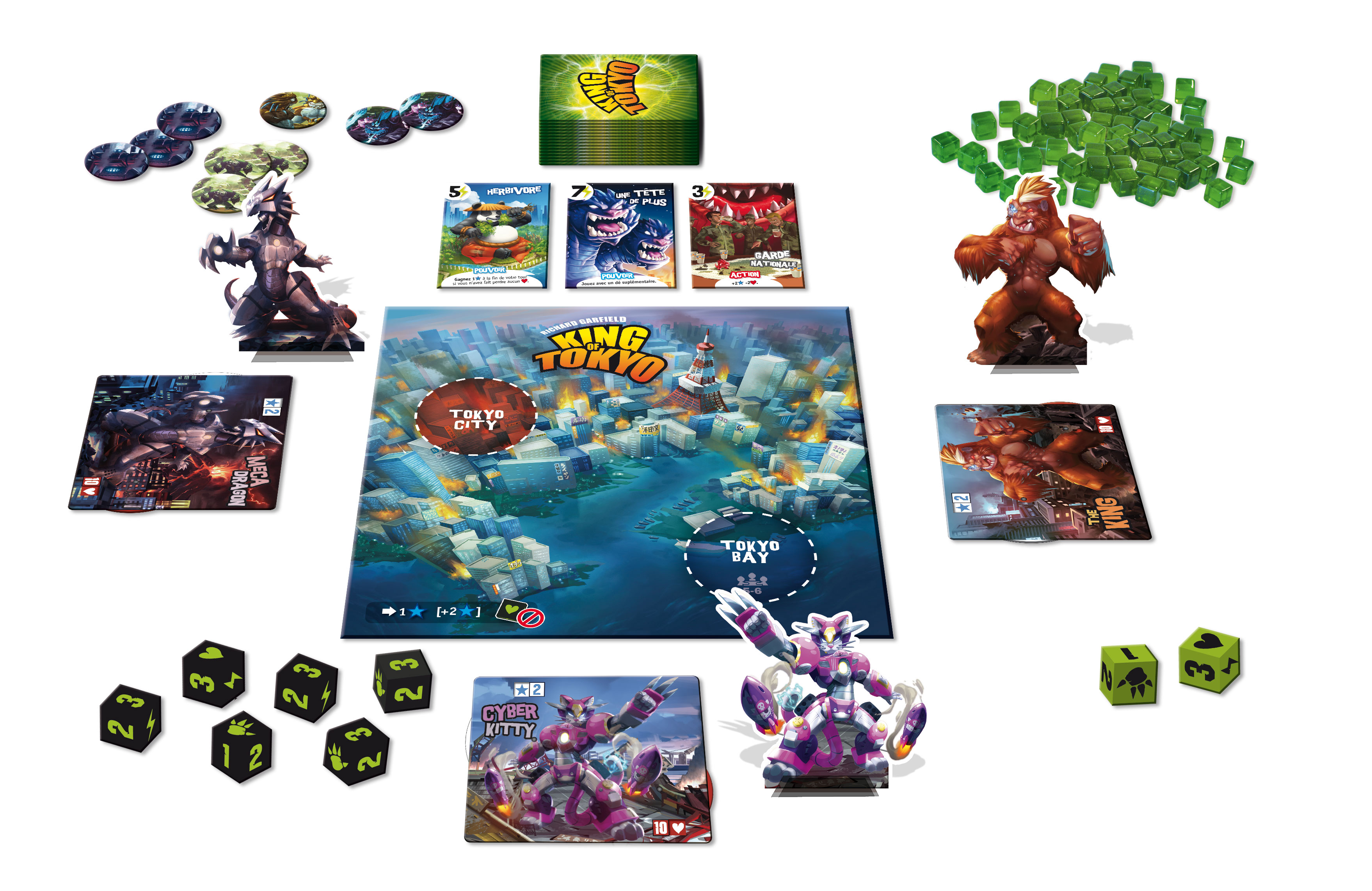 king of tokyo plateau