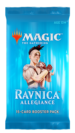 Ravnica Allegiance - Gruul booster - Magic - jeux - Toulon - L'Atanière