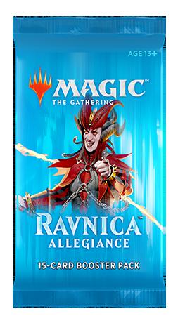 Ravnica Allegiance - Rakdos booster - Magic - jeux - Toulon - L'Atanière