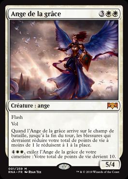 Ange de la grâce - L'Allégeance de Ravnica - RNA - Magic - jeux - Toulon - L'Atanière