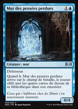 Mur des pensées - L'Allégeance de Ravnica - RNA - Magic - jeux - Toulon - L'Atanière