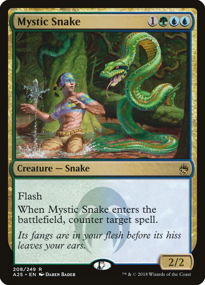 Mystic Snake - Masters 25 - M25 - Magic - jeux - Toulon - L'Atanière