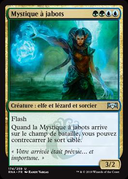 Mystique à jabots - L'Allégeance de Ravnica - RNA - Magic - jeux - Toulon - L'Atanière