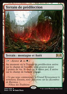 Terrain de prédilection - L'Allégeance de Ravnica - RNA - Magic - jeux - Toulon - L'Atanière