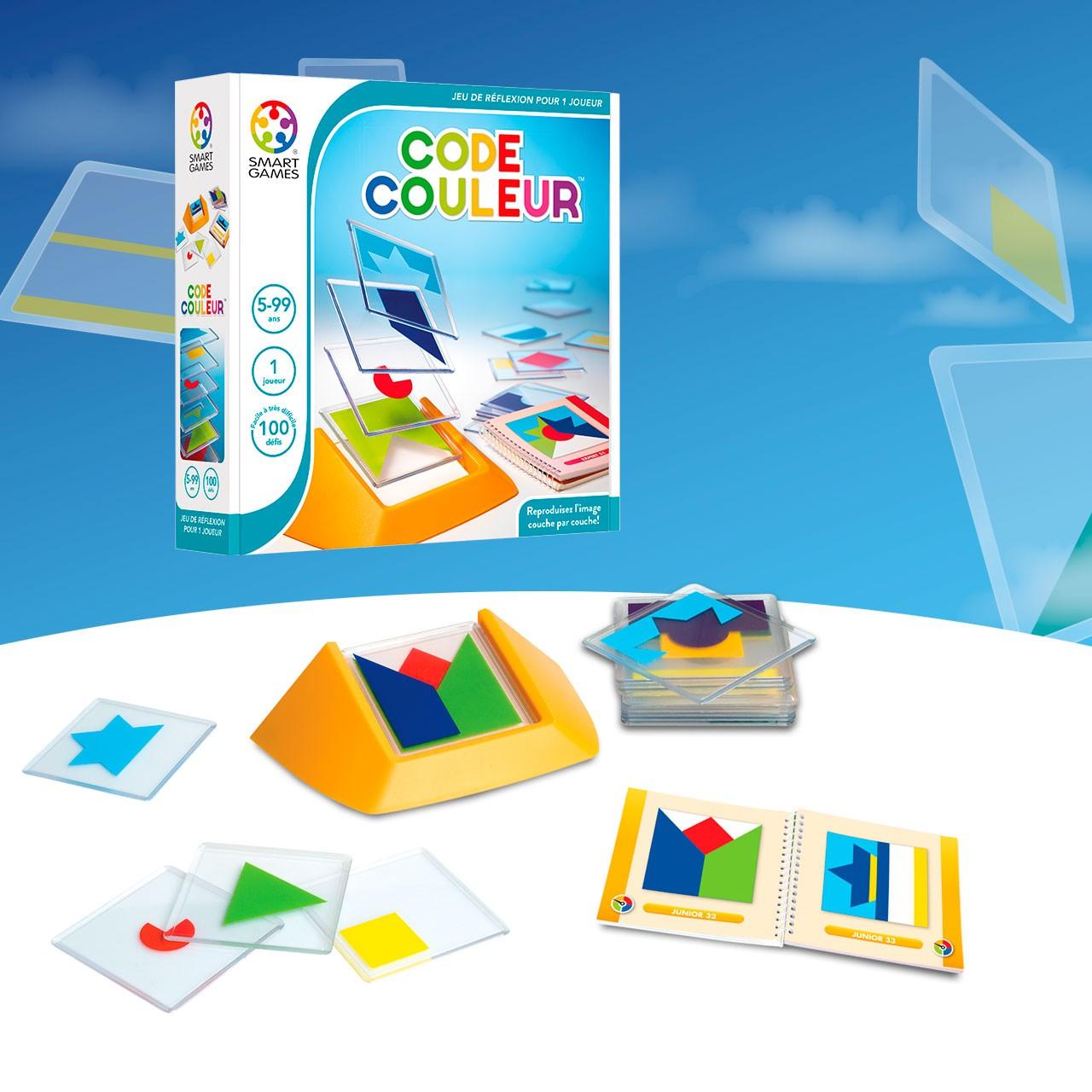 smartgames code couleur 1 jeux Toulon L'Ataniere