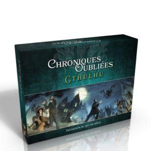 Chroniques Oubliées : Cthulhu - boite d'initiation - Black Book Éditions - jeux - Toulon - L'Atanière