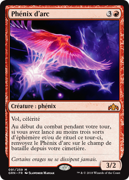 Phenix d'arc - RNA - Arclight Phoenix - Magic - Wizards Of The Coast - jeux -Toulon - L'Atanière