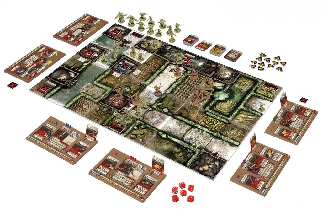 Green Horde - contenu - Zombicide - jeux -Toulon - L'Atanière