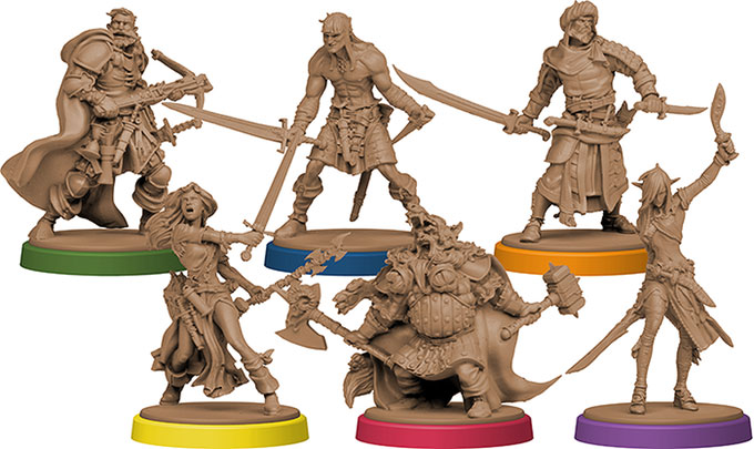 Green Horde - figurines héros - Zombicide - jeux - Toulon - L'Atanière
