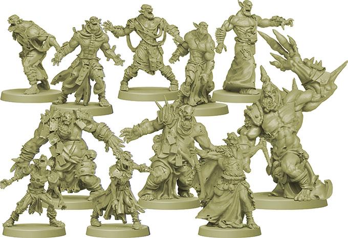 Green Horde - figurines zombies - Zombicide - jeux - Toulon - L'Atanière