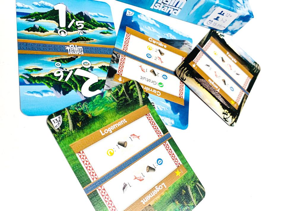 palm island cartes