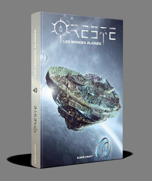 Oreste Les Mondes Alignés -couv - Elder Craft - jeux - Toulon - L'Atanière