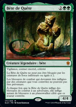 Bete de Quete Le Trone d Eldraine ELD Magic | Jeux Toulon L'Atanière