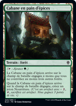 Cabane en pain d epice Eldraine ELD Magic | Jeux Toulon L'Atanière