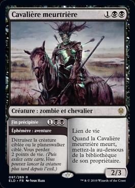 Cavaliere meurtriere Le Trone d Eldraine ELD Magic | Jeux Toulon L'Atanière