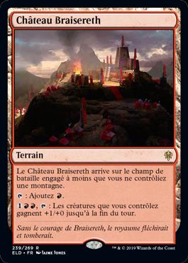 Chateau Braisereth Eldraine ELD Magic | Jeux Toulon L'Atanière