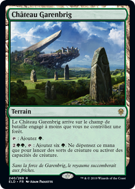 Chateau Garembrig Eldraine ELD Magic | Jeux Toulon L'Atanière