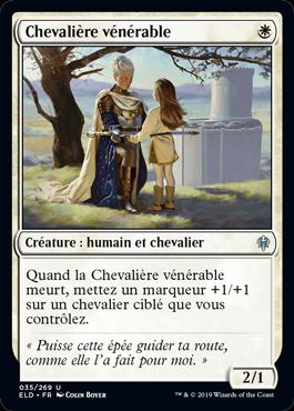 Chevaliere venerable Eldraine ELD Magic | Jeux Toulon L'Atanière