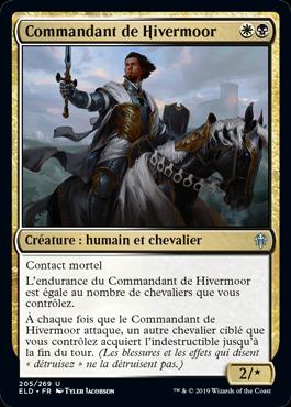Commandant de Hivermoor Eldraine ELD Magic | Jeux Toulon L'Atanière