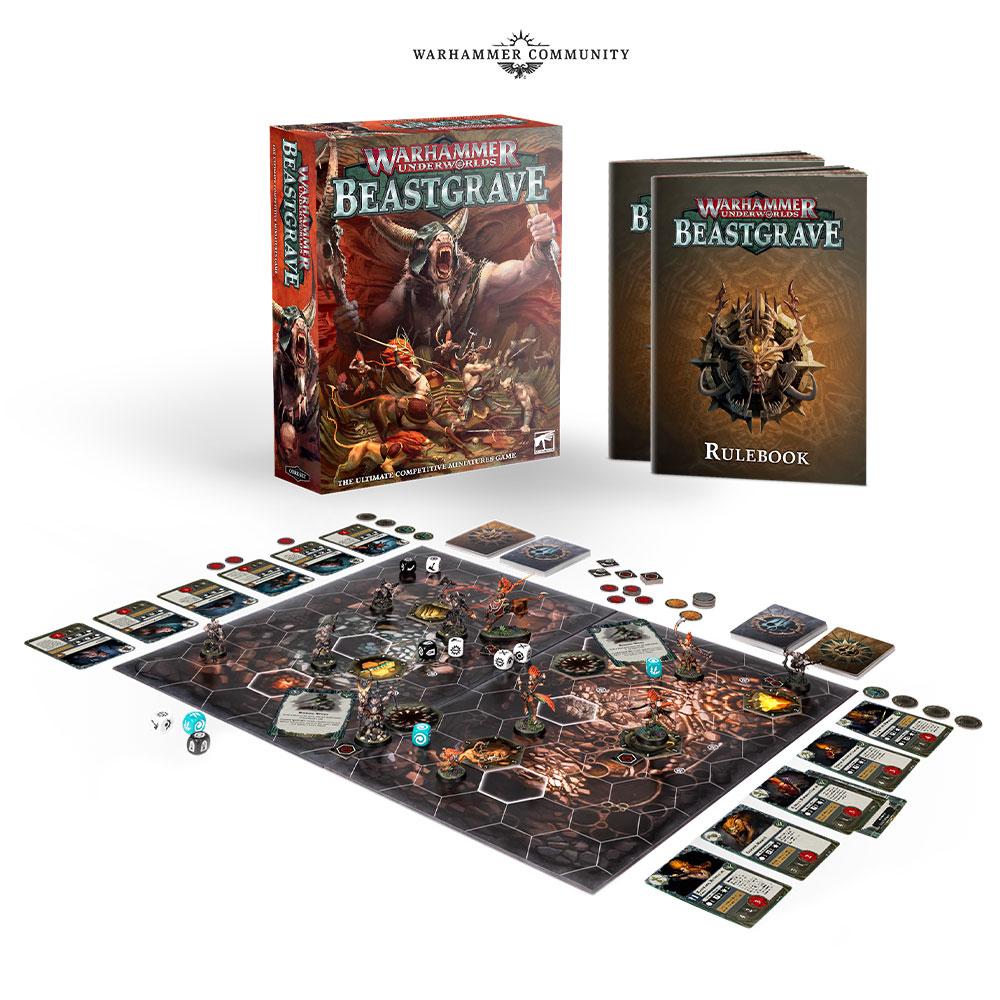beastgrave board warhammer underworlds games workshop